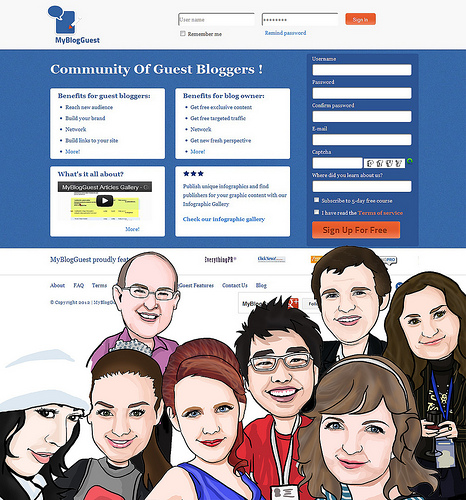 Guest Blogging Traffic