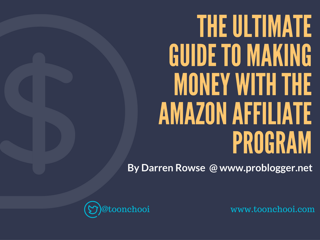 affiliate marketing guide for Amazon