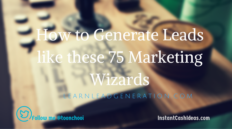 leads generation tips from experts
