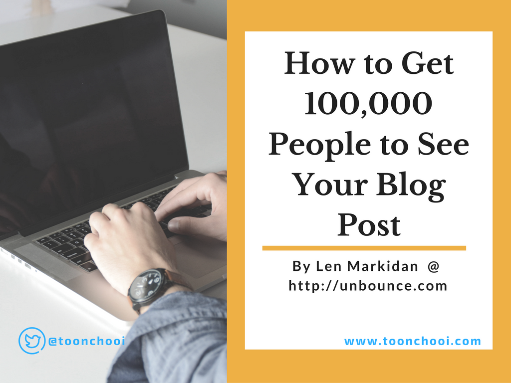 how to generate mass traffic to your blog
