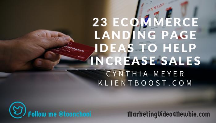how to improve ecoomerce sales