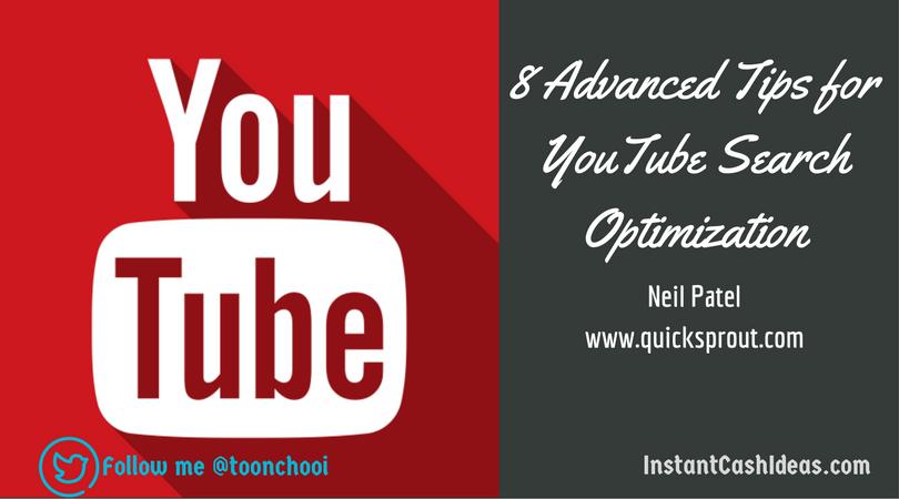 youtube optimisation tips