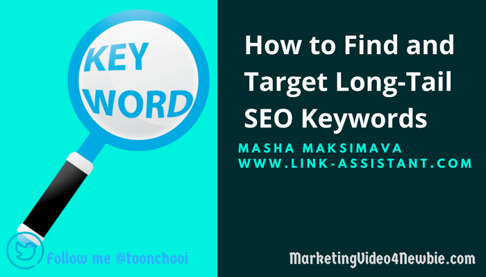 how to find targeted long tail keywords