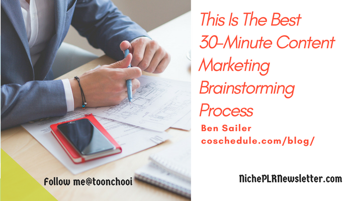 Plan a month of content in just 30 minutes