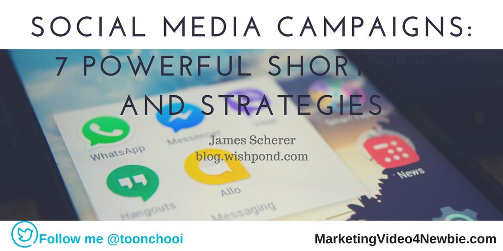 social media campaign strategies