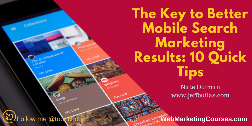tips for better mobile search result