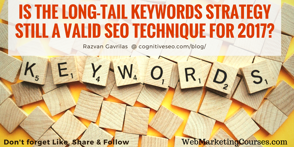 Is Long Tail Keyword still working for seo?