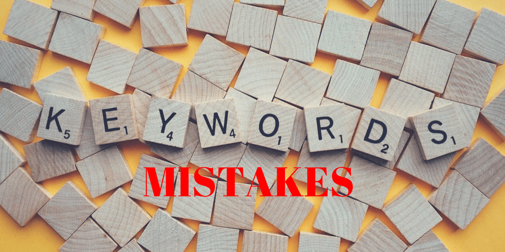 4 keywords mistakes people make