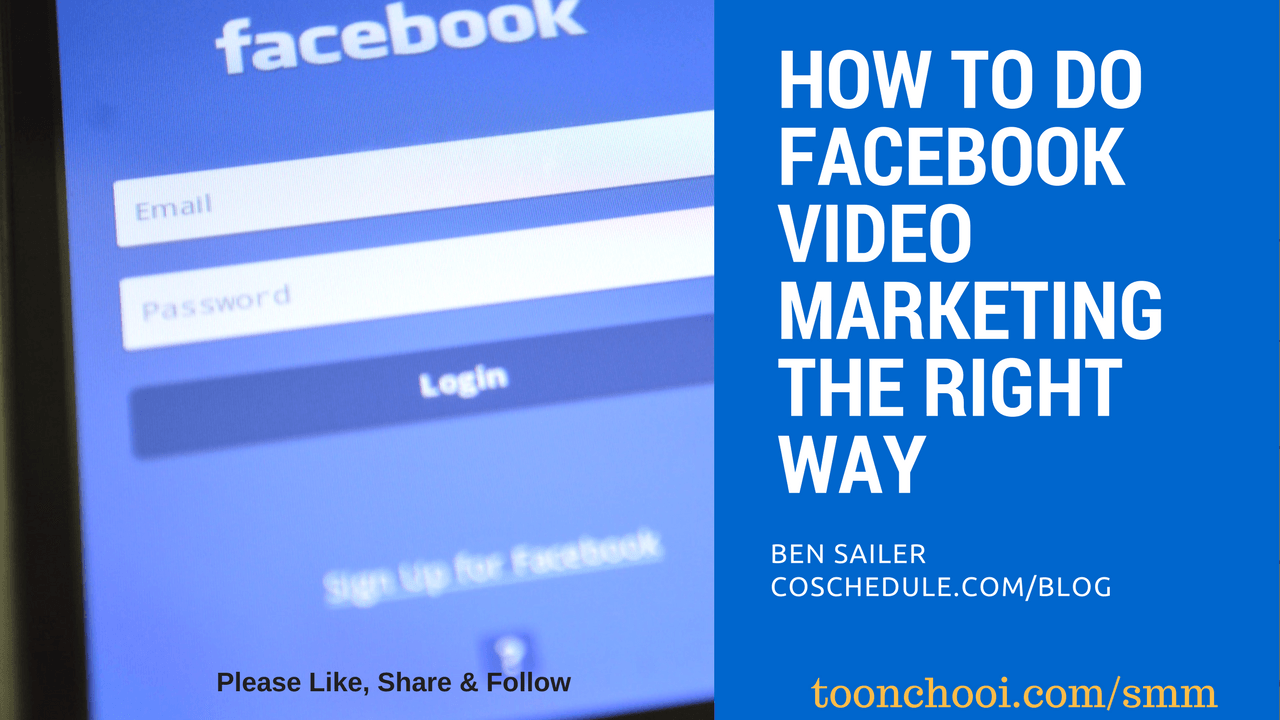 Facebook Video Marketing Strategy