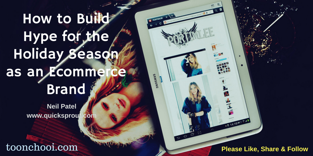 Build Hype for the Holiday Season as an Ecommerce Brand