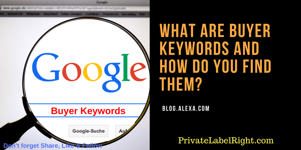how to find buyer keywords