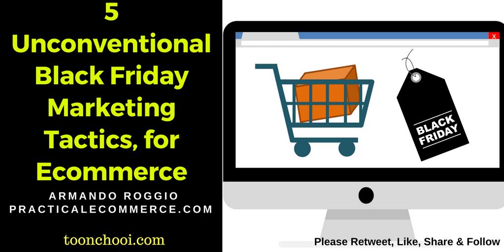 Black Friday Marketing Tactics for Ecommerce