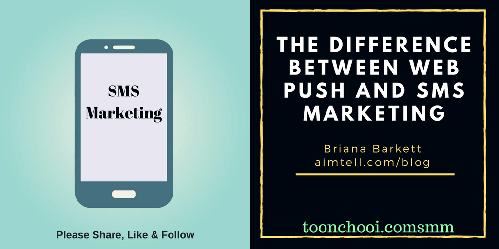 Web Push vs SMS Marketing