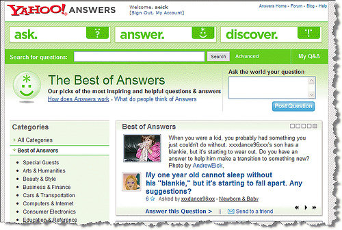 How To Get Traffic With Yahoo Answers