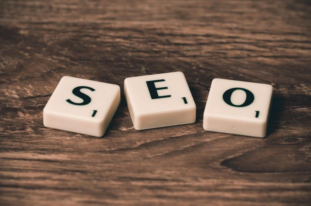 content optimised for SEO